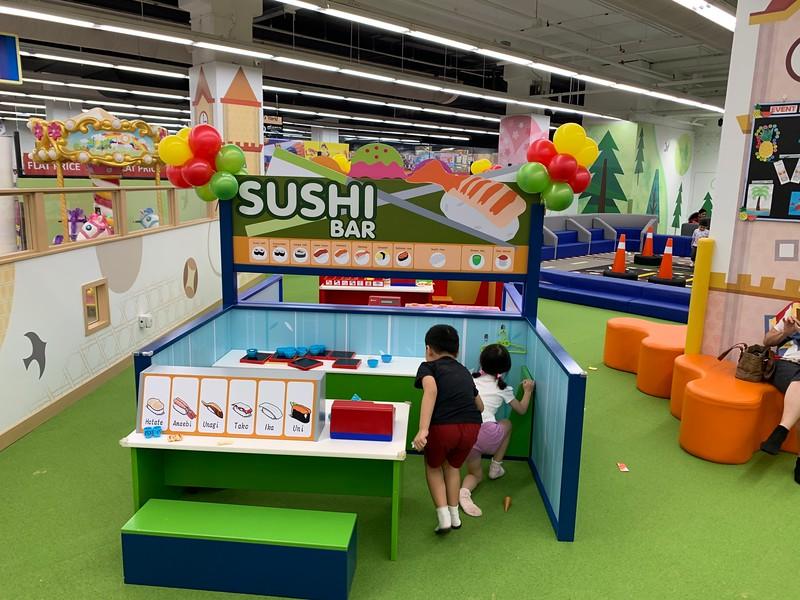 Sushi Bar playtime