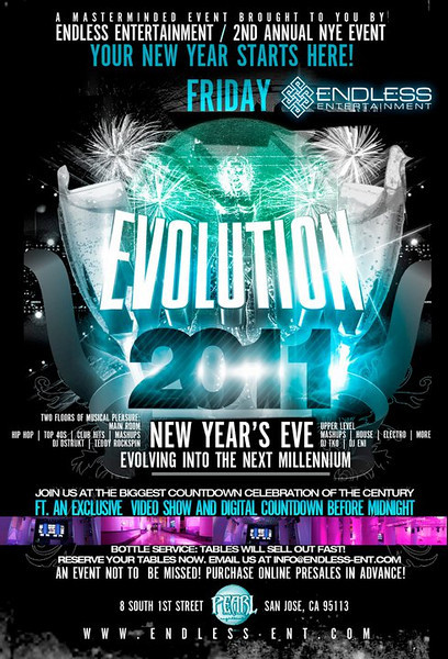 12/31 [Evolution NYE 2011@Pearl]