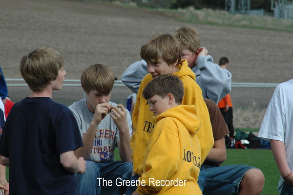Boys Track at Greene