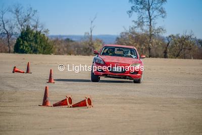 Red Mazda RX8