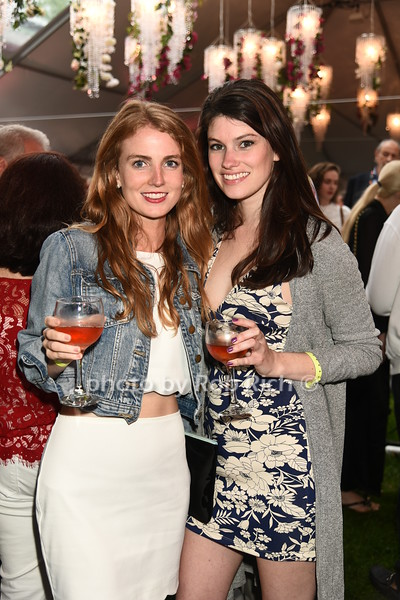 Laura Flaherty and Margaret Loftus attend Dan's Rose' Soiree at the Southampton Arts Center in Southampon on May 28, 2017.