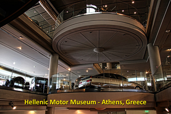 Hellenic Motor Museum - Athens Greece