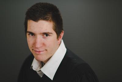 Zack's Grad Portraits