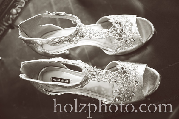 Kristen & Robert Creative Wedding Photos