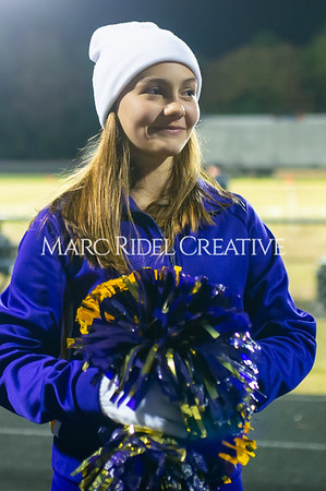 Broughton football vs Millbrook. Senior night. November 8, 2019. D4S_7135