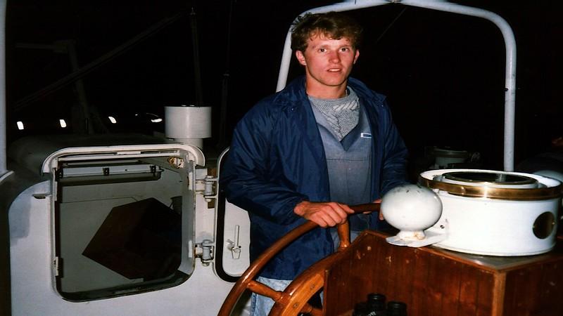 Young Endeavour sailing ship & Craig Harris