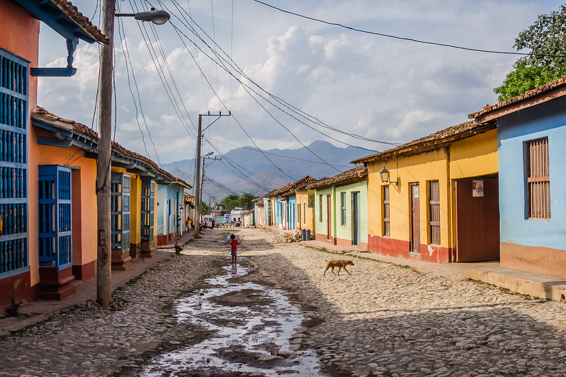 Street in Trinidad, Cuba - Safety tips for Travel