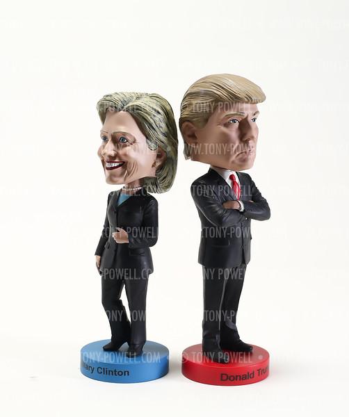 Hillary Clinton Donald Trump Bobbleheads