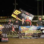 Fremont Speedway - All Star Sprints - 10/10/20 - Paul Arch