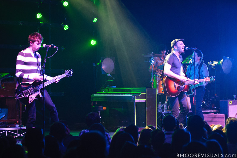 Mat Kearney performs on January 26, 2012 in support of Young Love at The Ritz in Tampa, Florida