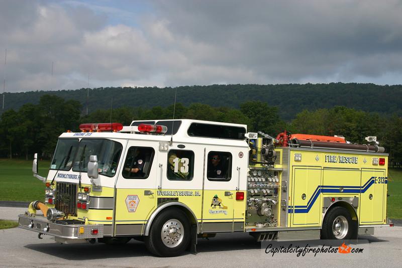 West Shore Bureau of Fire (Wormleysburg) Engine 3-13: 1992 E-One Cyclone 1500/500