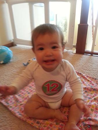 Dannie 1 year old
