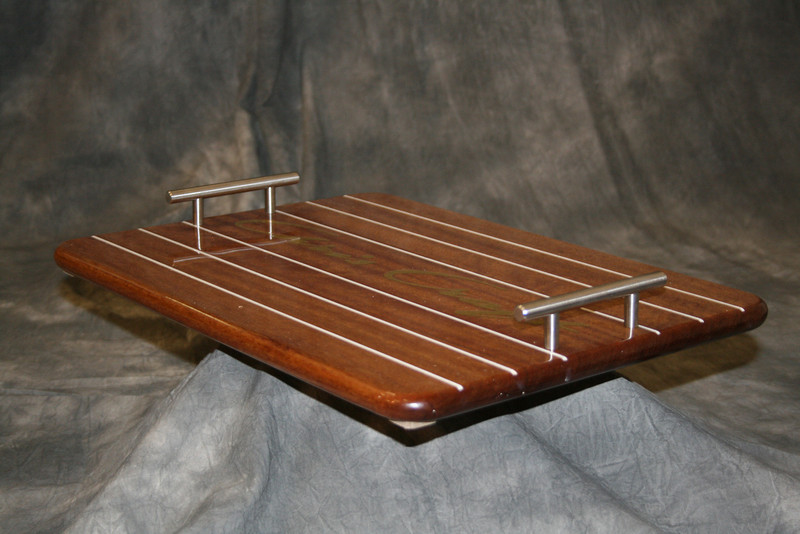 Side view of Serving Tray