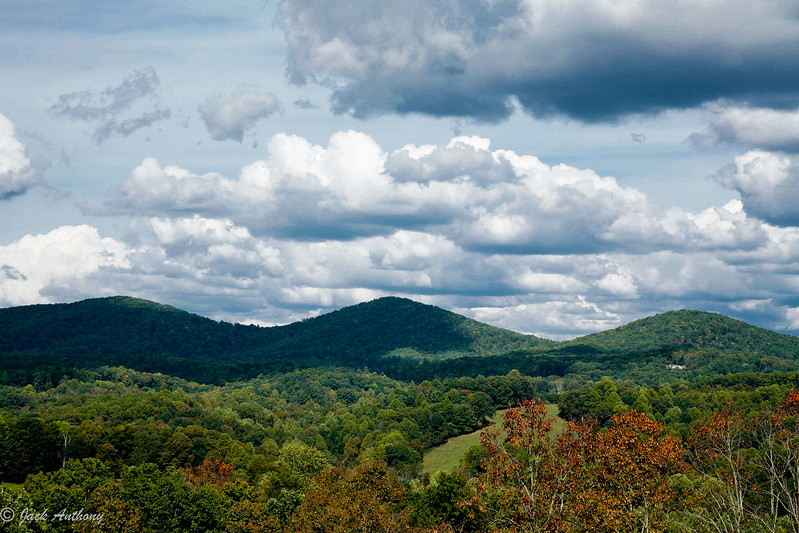 Three Sisters Mountains, Lumpkin County, Ga.