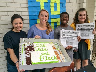 OG&B Newspaper Cake