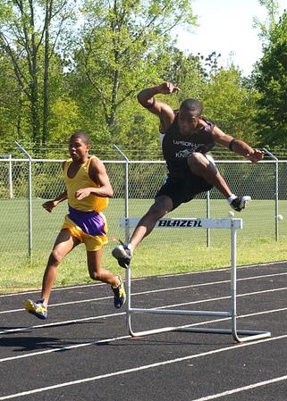 April 14, 2005 - UL Track Meet