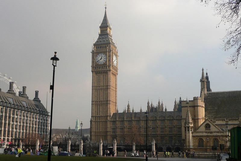 Houses of Parliament and Big Ben. London