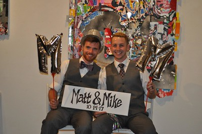 Mike and Matt Wedding