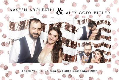 Naseem+Alex ~ Photobooth