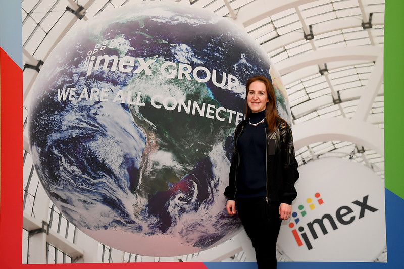 Carina Bauer, CEO, IMEX Group