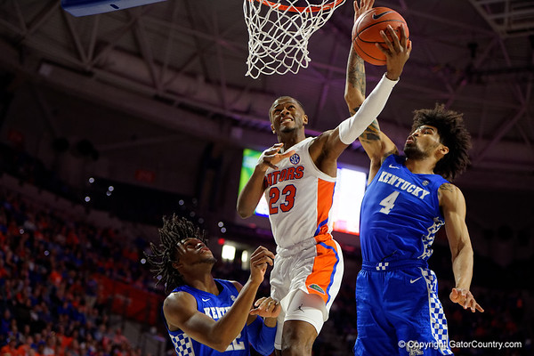 Quick Gallery - Florida Gators vs Kentucky Wildcats  03-07-2020