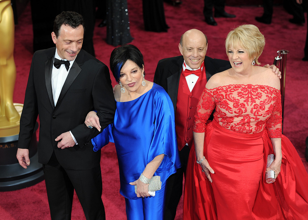 . Liza Minnelli and guests attend the 86th Academy Awards at the Dolby Theatre in Hollywood, California on Sunday March 2, 2014 (Photo by John McCoy / Los Angeles Daily News)