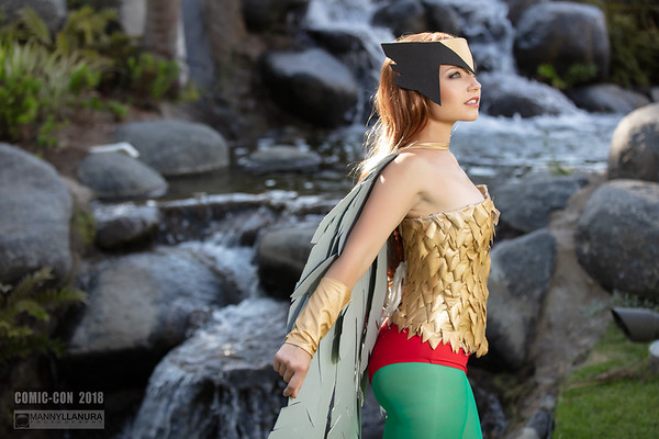 Hawkgirl by Amber