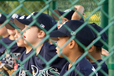 Winter Park Rays T-Ball Team