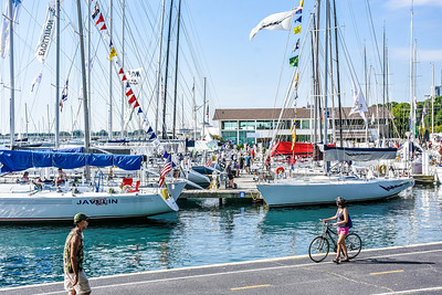 2019 Race to Mackinac, Presented by Wintrust: On the Docks