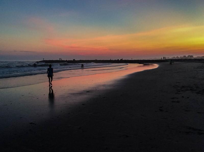 Sundown Fenway Beach