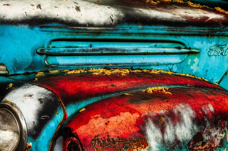 Ford Pickup 1, History Park, San Jose, California, 2010