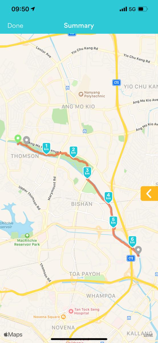 Kallang Park Connector : Bishan to Potong Pasir