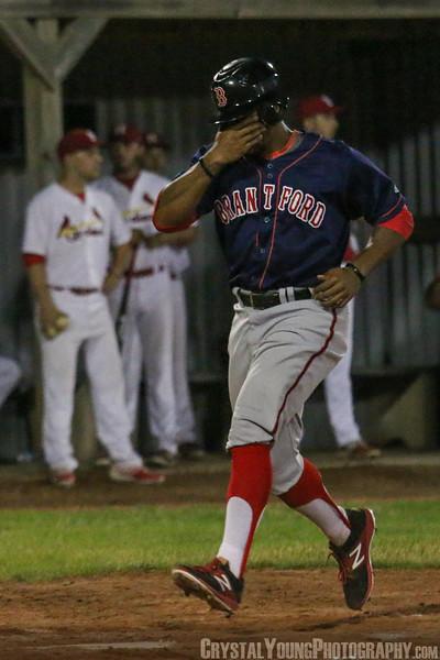 Brantford Red Sox at Hamilton Cardinals July 18, 2017