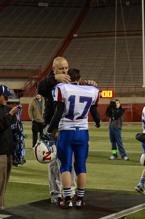 State Football Champion Post-Game, 2012