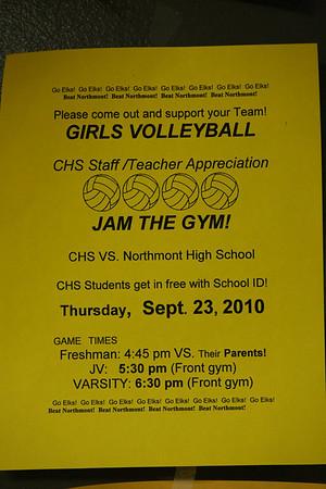 2010-09-23 Freshman vs Parents