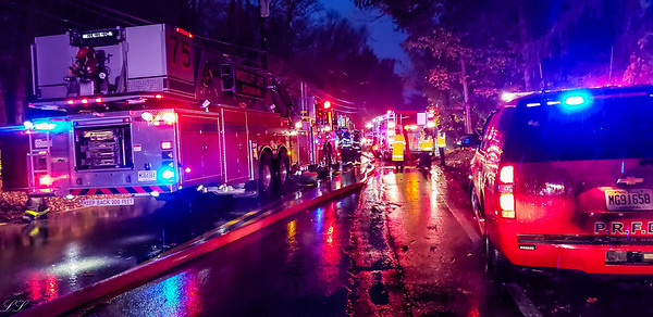 Woodcliff Lake Second Alarm Fire Pascack Road 11/9/18