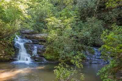 Lick Log Waterfall, SC