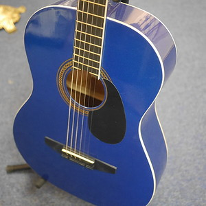 Student Acoustic Guitar - Metallic Blue