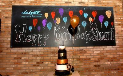Stuart's Birthday at the Dakota