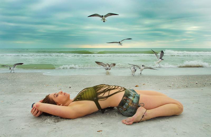 Gulf Coast Suptavirasana ~ Saint Pete Beach, Florida