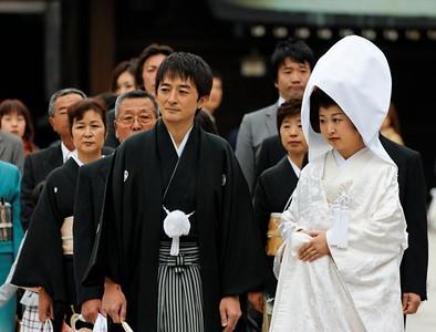 Japan 2008 Tokyo Meiji Shrine Wedding