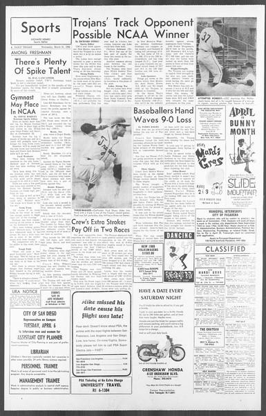 Daily Trojan, Vol. 56, No. 94, March 31, 1965
