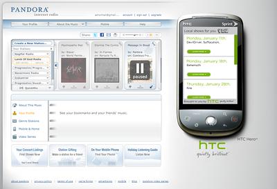 HTC Hero on Sprint