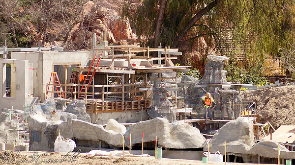 Disneyland Resort, Disneyland, Frontierland, Critter Country, Star Wars Land, Star Wars, Star, Wars, Rivers Of America, River, America, Natures, Wonderland, Mickey and Friends Parking Structure, Mickey, Friends, Parking, Structure