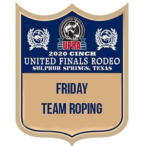 UPRA Finals Friday Team Roping