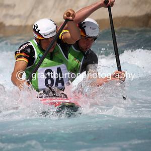 ICF Canoe Slalom World Cup - London - W1 & C2 Finals