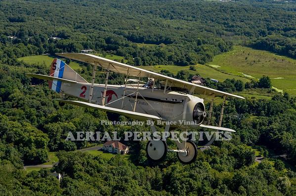 SPAD VII Flight - Old Rhinebeck Aerodrome 8/18/12  N8096L