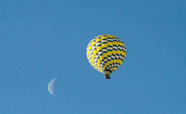 Balloons in Napa