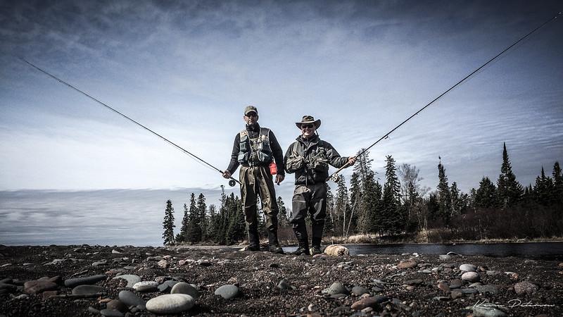 Fly Fishing Minnesota's North Shore of Lake Superior
