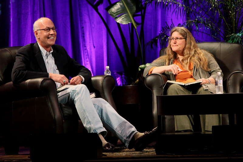 """""""Looking Further"""": Host Glen Hiemstra, Founder and Owner, Futurist.com; with Science Fiction Author Brenda Cooper"""